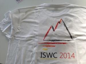 ISWC-DC 2014 t-shirt